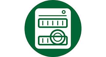 Tüm parçalar bulaşık makinesinde yıkanabilir
